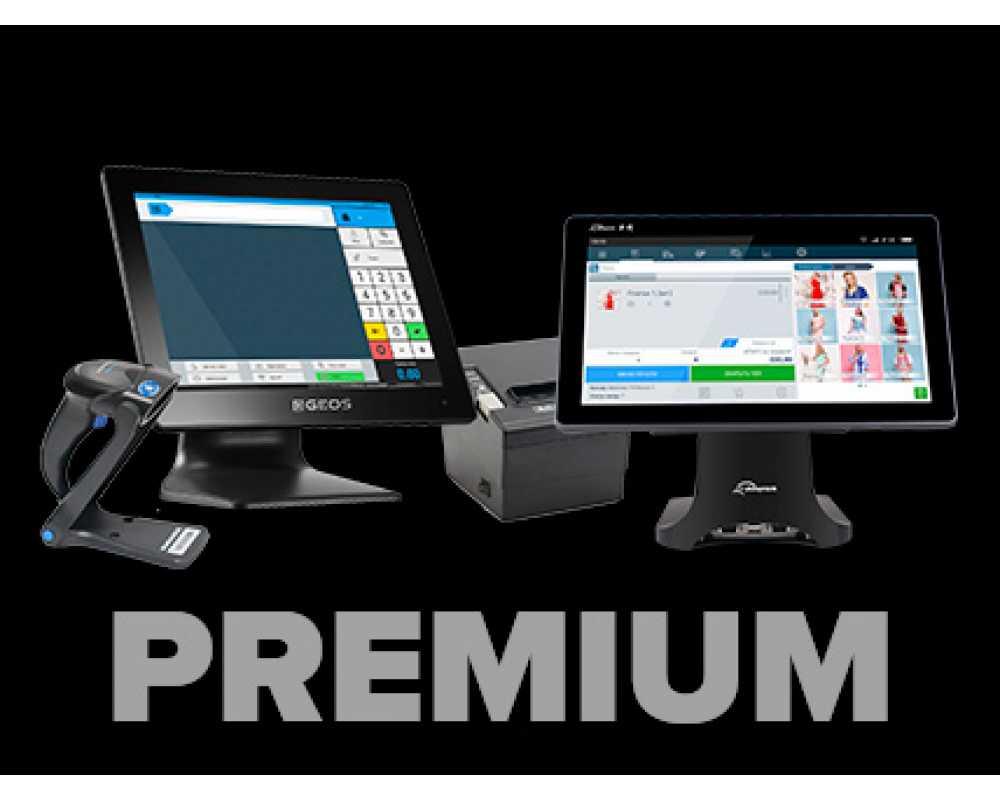 Нефіскальне рішення на touch-моніторі Premium