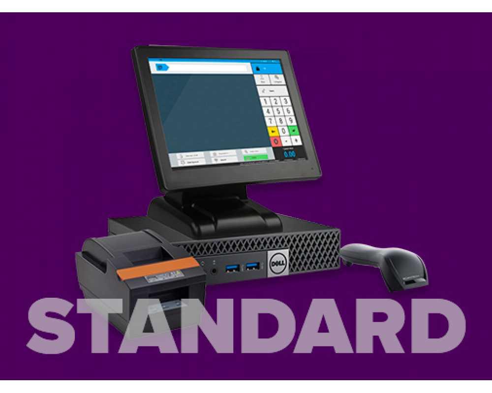 Нефискальное решение на touch-мониторе Standard