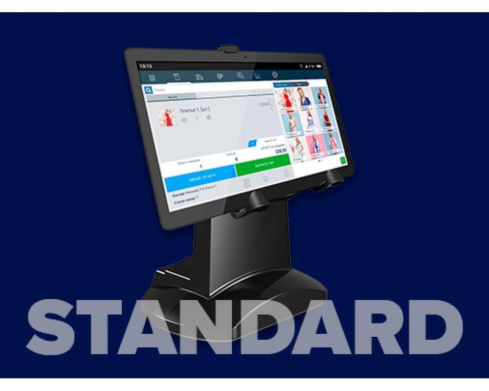 Фискальное решение на планшете Standard