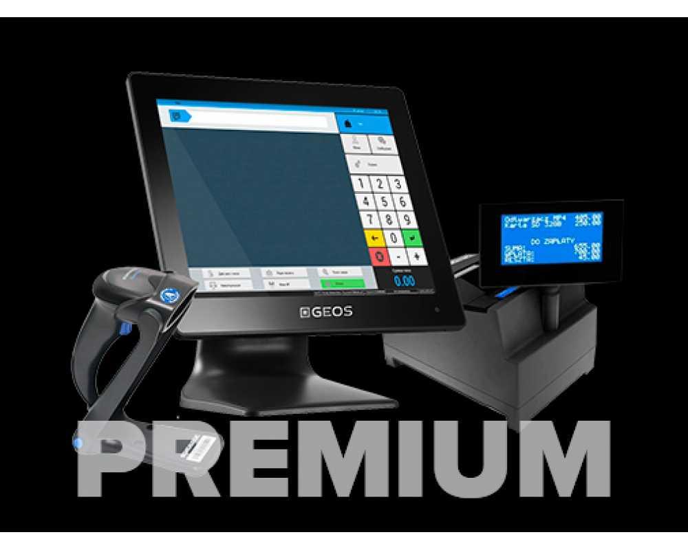 Фискальное решение на touch-мониторе Premium