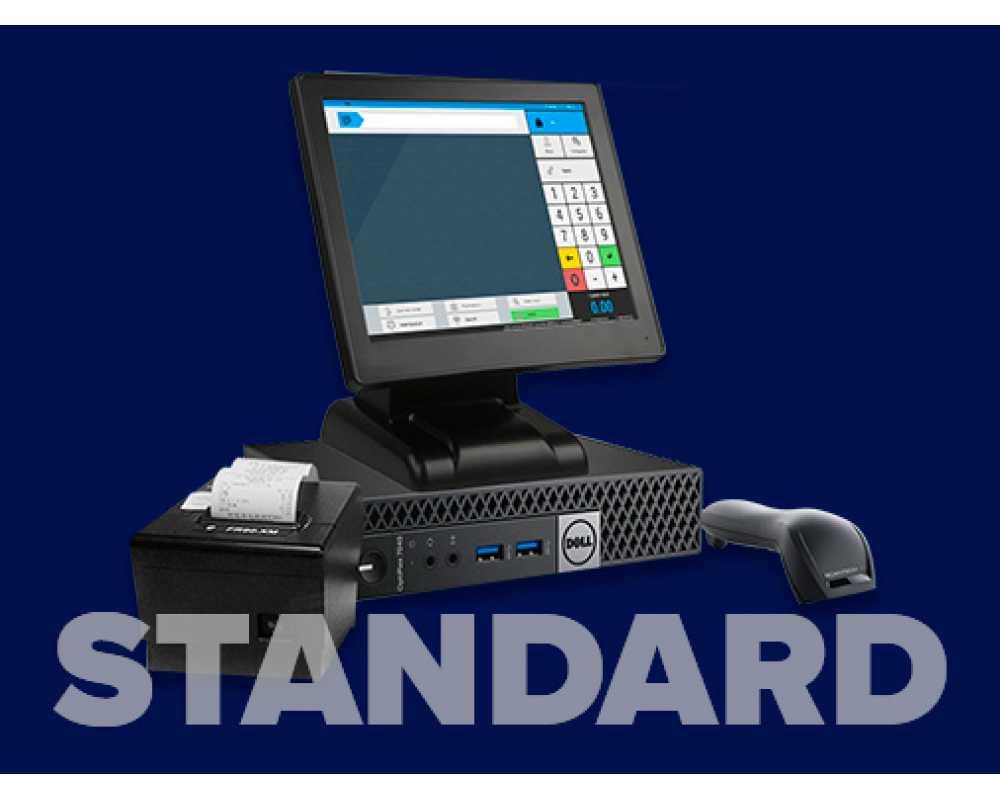Фискальное решение на touch-мониторе Standard