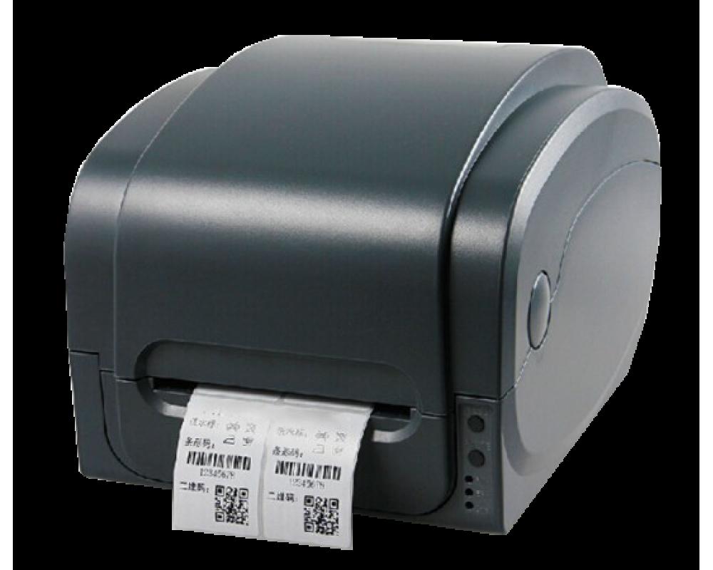 Принтер этикеток GP-1125T в комплекте с внешним смотчиком этикеток