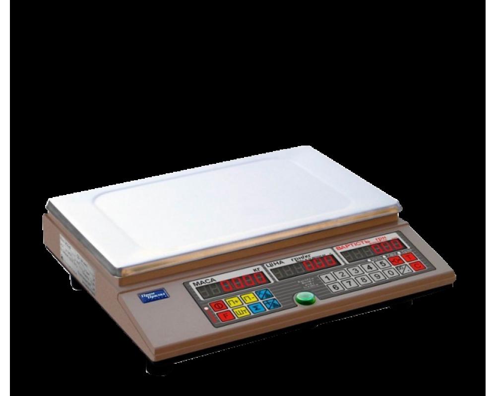 Электронные торговые весы ВТА-60/15-63-АС-С